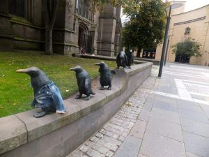 Cutest statues ever.